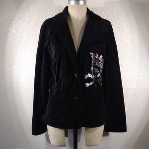 NWT Vintage Johnny Was 4LNL Coat Sz M